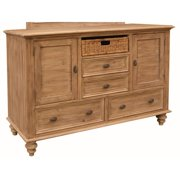 Sunset Trading Vintage Casual 5 Drawer Dresser
