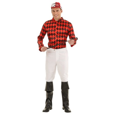 Adult Horse Jockey Costume](Cheap Horse Costume)