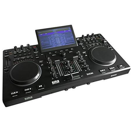 EMB DJC6U Professional Controller DJ MIXER w/ USB/SD Slot - Walmart com