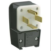LEVITON 9462-P Angle Plug, 14-60P, 60A, 125/250V