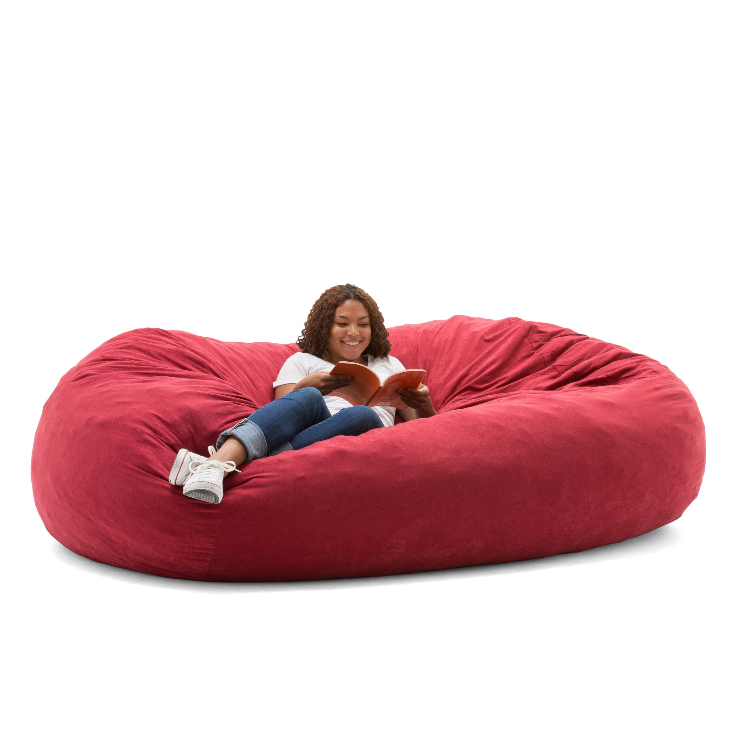 Awe Inspiring Big Joe Xxl 7 Fuf Bean Bag Chair Multiple Colors Fabrics Ncnpc Chair Design For Home Ncnpcorg