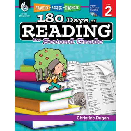 180 Days of Reading for Second Grade (Grade 2) : Practice, Assess, Diagnose](Halloween Games For 2nd Grade Classrooms)