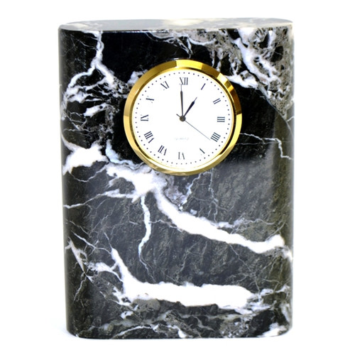 Nature Home Decor Marble Clock