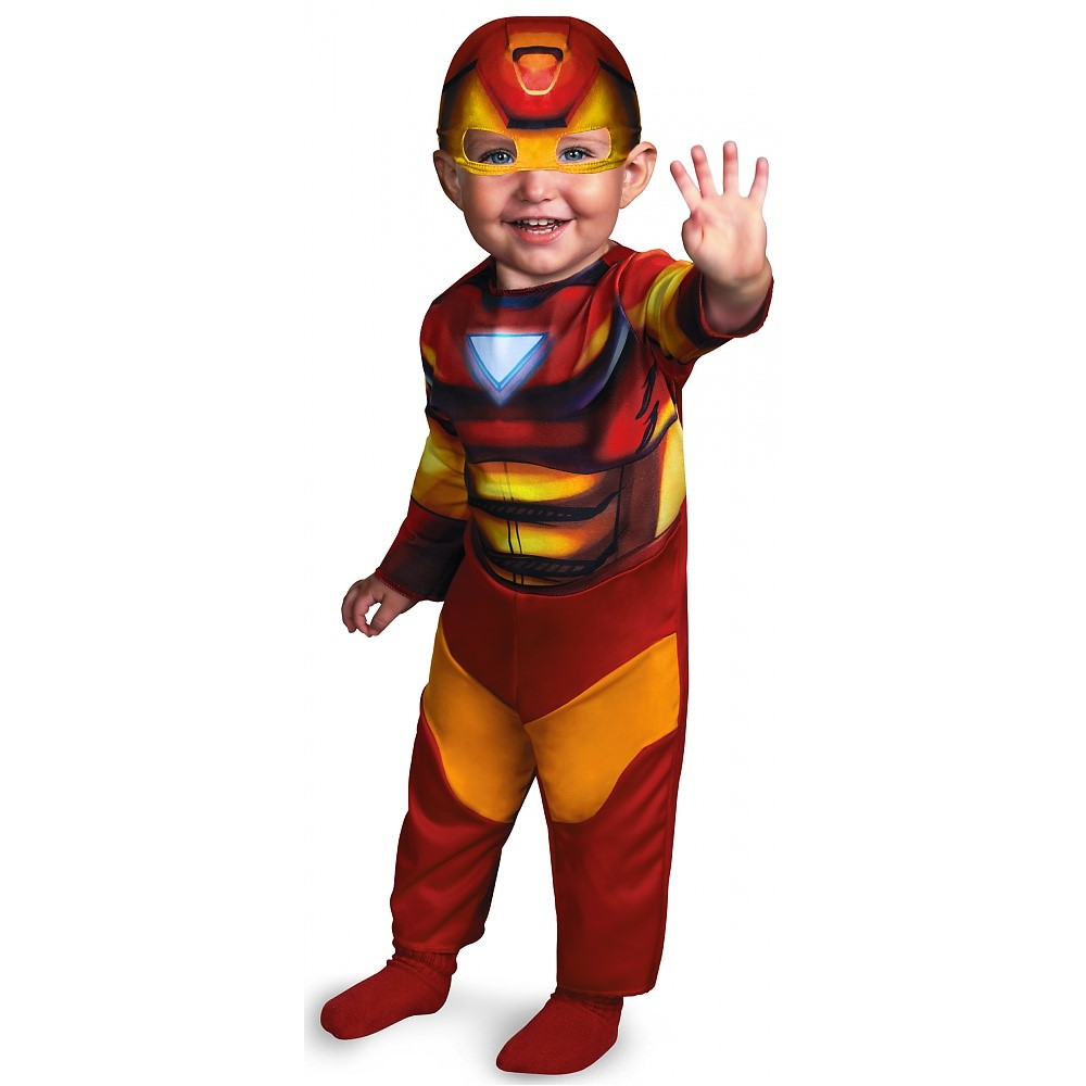 """JUSTIN PRODUCTS INC. IRON MAN INFANT 12-18MO"""