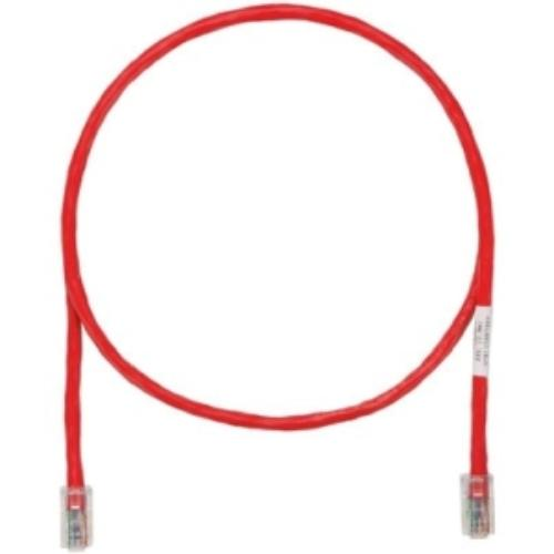 Panduit Powersum+ Cat.5e Utp Patch Network Cable - Category 5e For Network Device - 14 Ft - 1 Pack - 1 X Rj-45 Male Network - 1 X Rj-45 Male Network - Red (utpch14rdy)