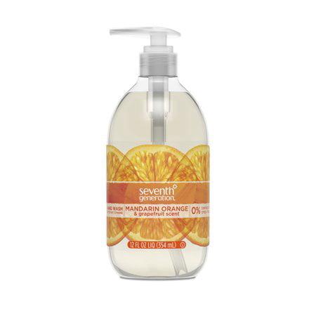 (3 Pack) Seventh Generation Hand Wash Soap Mandarin Orange & Grapefruit 12