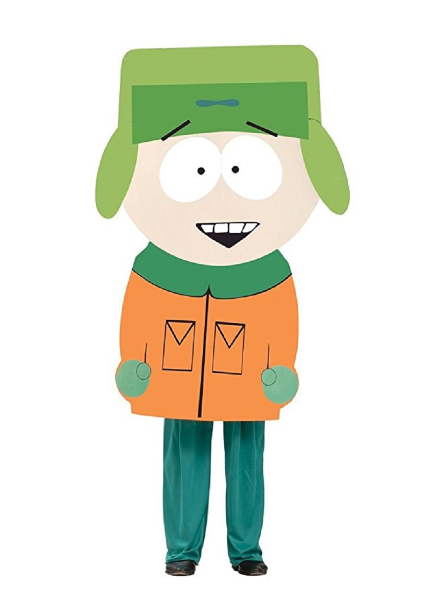 Kyle South Park Southpark Funny Cartoon Mask Adult Humor Mens Halloween Costume