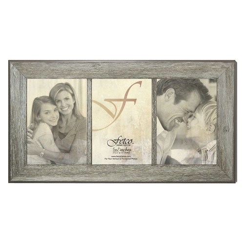 Fetco Home Decor Hartselle Weathered Barn Photo Frame