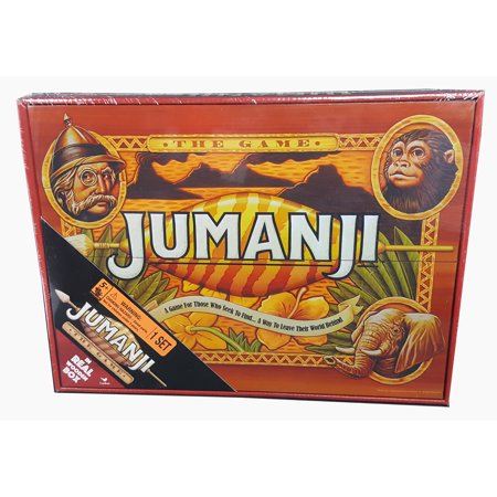 Deluxe Wood Jumanji - Classic Retro '90s Game (New Halloween Games)