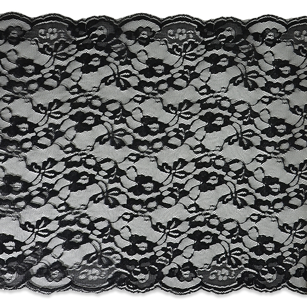 """Expo Int'l 2 yards of Laci 14"""" Width Chantilly Lace Trim"""