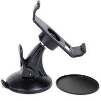 Car Mount Holder+Suction Cup Mount for Garmin Nuvi 200/205/250/255/260W 265T 265WT 270 275/465T GPS, EEEKit 2 in 1 Kit