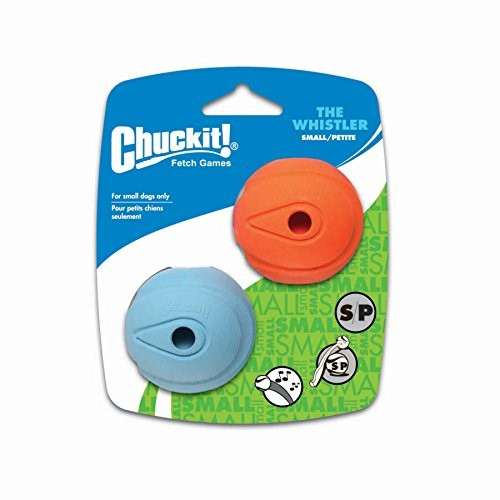 Chuckit! Whistler Dog Toy, Small, 2 Ct