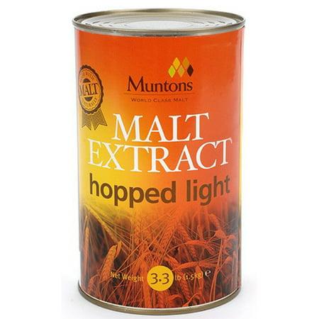 Muntons Malt Extract Hopped Light LME - Muntons Dry Malt Extract