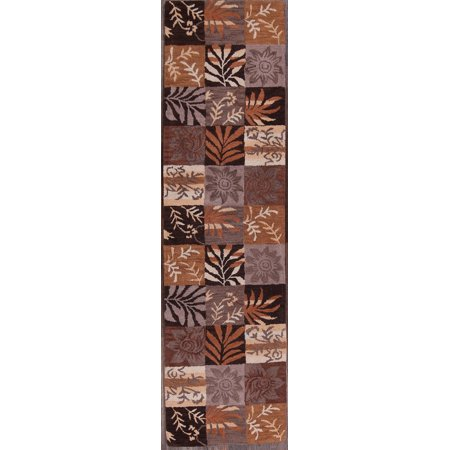 Rugsource Hand Tufted Nature 3x10 Print Oriental Runner