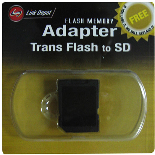 Link Depot Micro SD to Secure Digital SD Flash Memory Adapter
