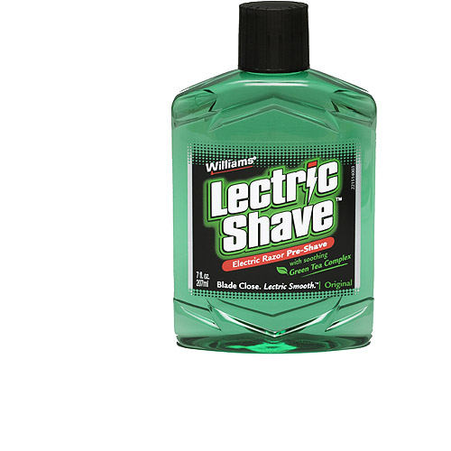Williams Lectric Shave Original 7oz, Pack of 2