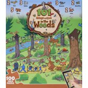 MasterPieces 101 Things to Spot in the Woods Jigsaw Puzzle, 24-Piece