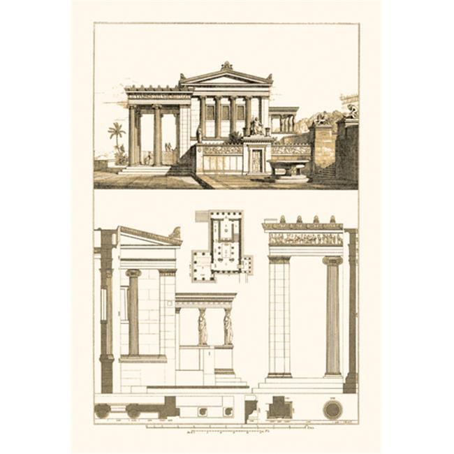 Buy Enlarge 0-587-09096-0P20x30 Erechtheum at Athens- Paper Size P20x30