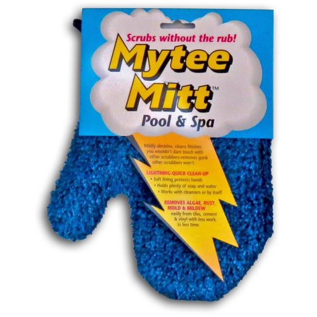 Gladon MM24B Mytee Pool & Spa Cleaning Mitt - 24 Piece