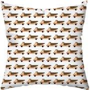Checkerboard, Ltd Vrrmm Vrrmm Throw Pillow
