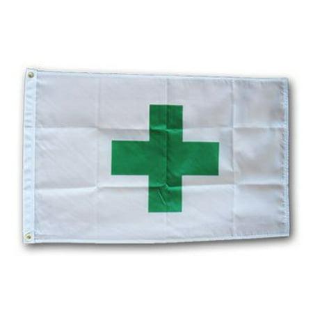Medical Marijuana - 2'X3' Nylon Flag