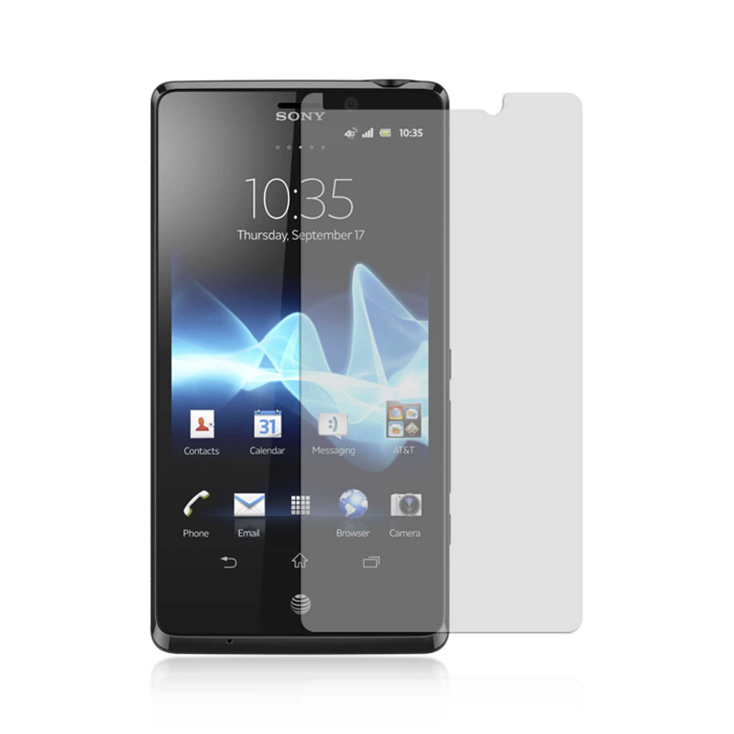 Sony Xperia TL Screen Protector, by Insten Anti-Scratch Clear Screen Protector LCD Film Guard For Sony Xperia TL