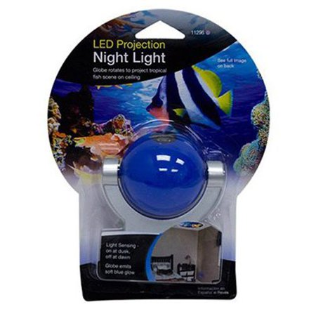 Projectables Tropical Fish Led Plug In Night Light  11296  Image Projects Onto Wall Or Ceiling  Provides A Soothing Guide Light As Well As Projected Image On Wall     By Jasco Ship From Us