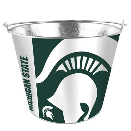 Michigan Spartens Sleek Wrap 5 Qt. Aluminum Ice Bucket ()