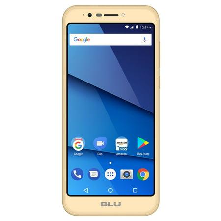 BLU Studio View XL S790Q 16GB Unlocked GSM Dual-SIM Android Phone w/ 13MP Camera - (Band Gsm Cell Phone)