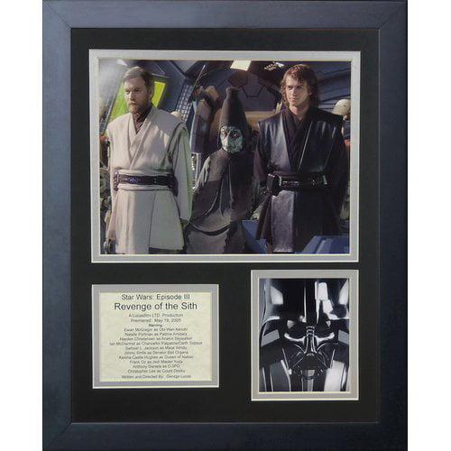 Legends Never Die Star Wars Revenge of The Sith Framed Memorabilia
