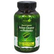 Irwin Naturals - Aloe & Triphala Active Cleanse and Probiotics - 60 Softgels