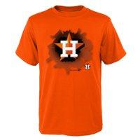 Product Image MLB Houston ASTROS TEE Short Sleeve Boys OPP 100% Cotton  Alternate Team Colors 4- c8624d722