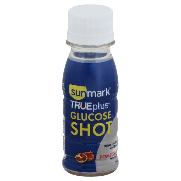 Sunmark TRUEplus Glucose Shot Pomegranate - 2 oz, 6 pack