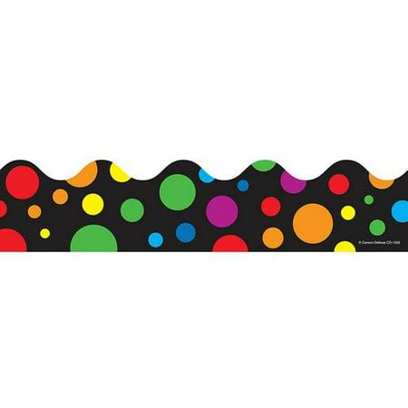 Frank Schaffer Publications/Carson Dellosa Publications Rainbow Dots Classroom Border