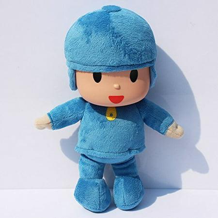 "Pocoyo Plush Anime 10"" / 25cm Pocoyo cartoon character Doll Stuffed Animals cute Soft collection Toy - image 1 of 1"