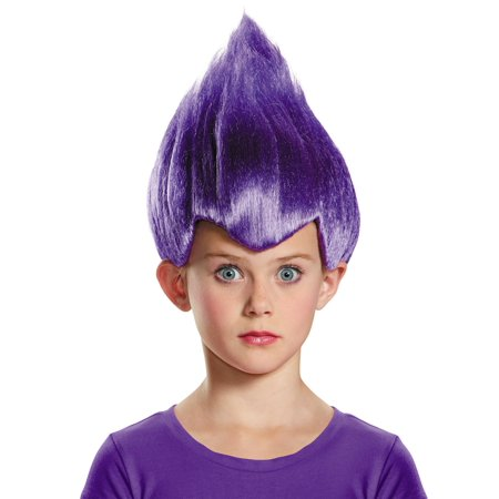 Purple Troll Child Wig - Wacky Wigs