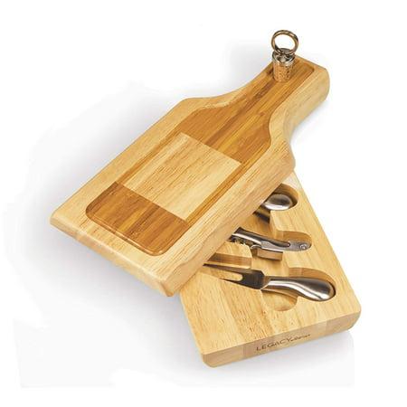Silhouette Cheese Board & Tools Set - image 2 de 5