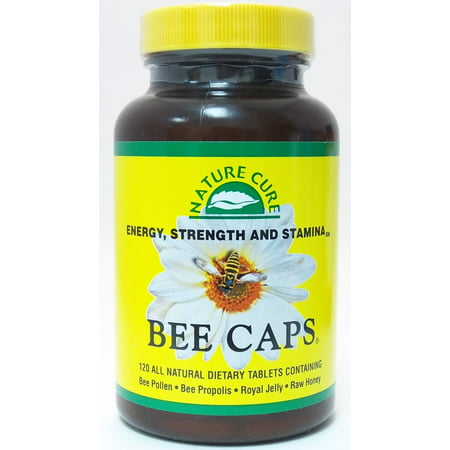Nature Cure Bee Caps Nature Cure Bee 120 Caplet