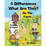 5 Differences- What Are They? - On the Farm- For Kids (Kids Series)