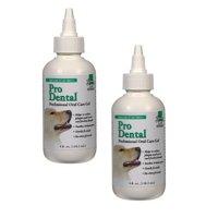 Professional Dental Oral Care Gel Safe For Dogs & Cats Gentle Formula 4oz Bottle (Two Bottles)