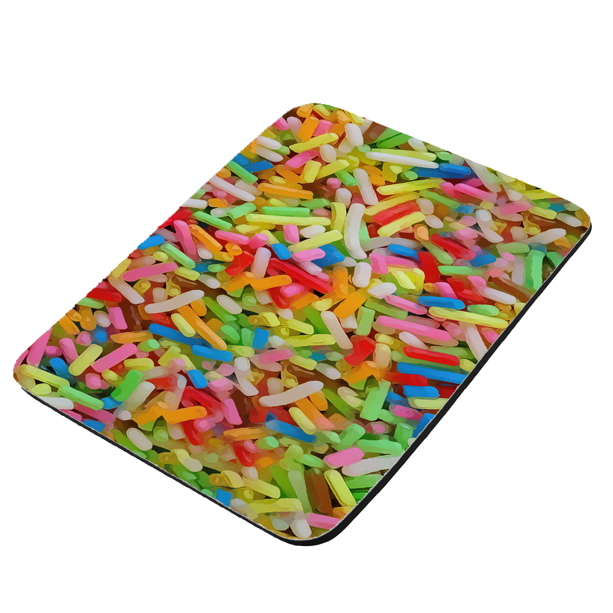 Ice Cream Sprinkles - KuzmarK Mousepad / Hot Pad / Trivet