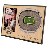 Green Bay Packers 3D StadiumViews Picture Frame - Brown - No Size