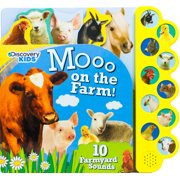 Discovery Moo on the Farm!: 10 Noisy Farmyard Sounds (Board Book)
