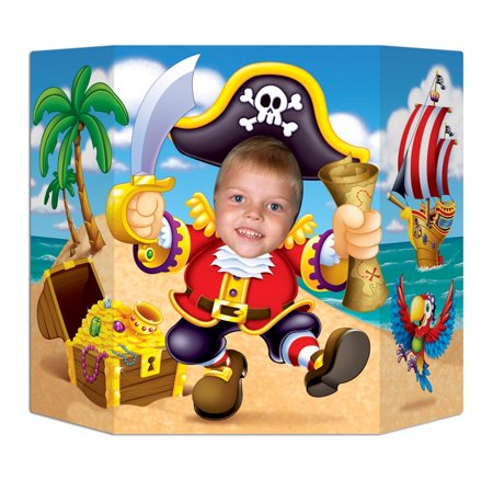 Pack of 6 Pirate Themed Discovered Treasure Photo Prop Decorations 37