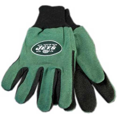 NY Jets Official Licensed Work Gloves by McArthur Towel and Sports