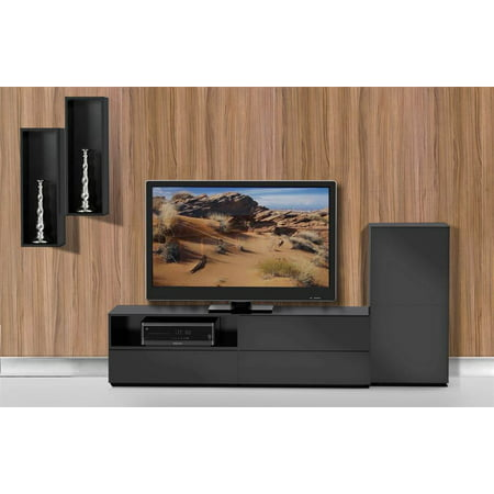 4-Pc Modern Eco-Friendly Entertainment Set