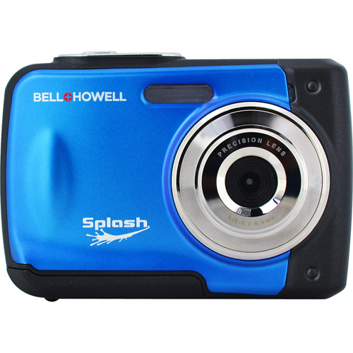 BELL HOWELL Blue WP10 12.0 Megapixel Waterproof Digital Camera