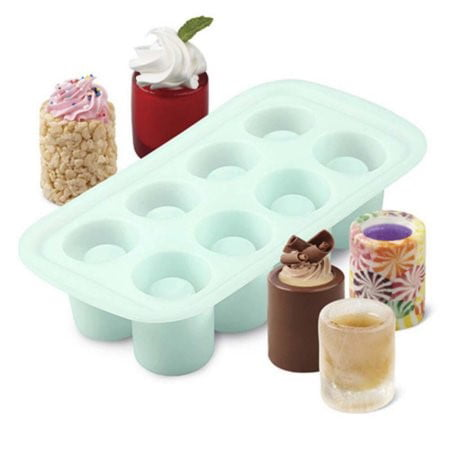 Wilton Shot Glass Silicone Mold, 8 cavity by Wilton