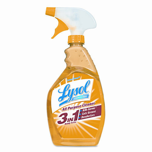 LYSOL Brand All-Purpose Cleaner, 12 32 Oz Spray Bottles/Carton