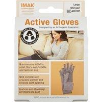 IMAK Compression Active Arthritis Gloves, Large 1 ea
